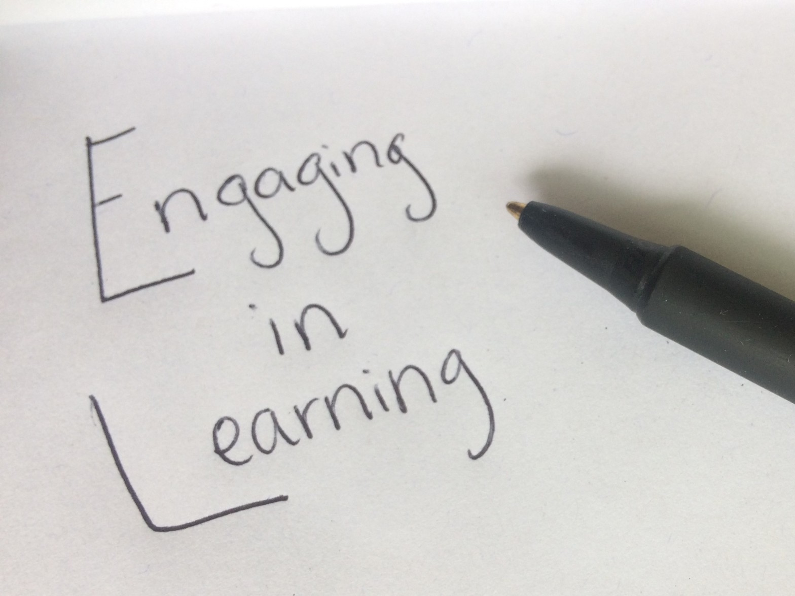 Engaging in Learning
