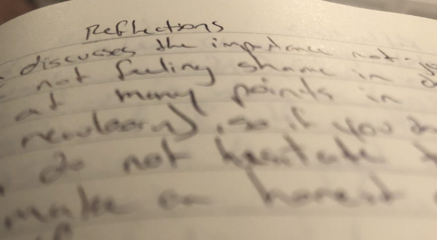 A Weekly Teacher's Journal